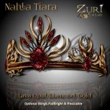 Zuri Rayna- Nahla Tiara - Lava_Diamond_GoldPIC