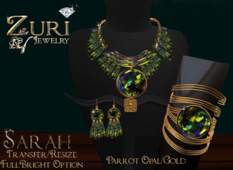Sarah Parrot Opal Gold
