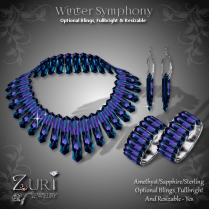 Winter Symphony - Amethyst_Sapphire_Sterling