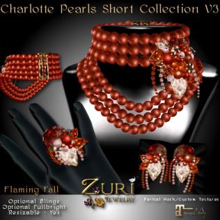 New Countdown Sale 50% Zuri's Charlotte Short - Flaming Fall